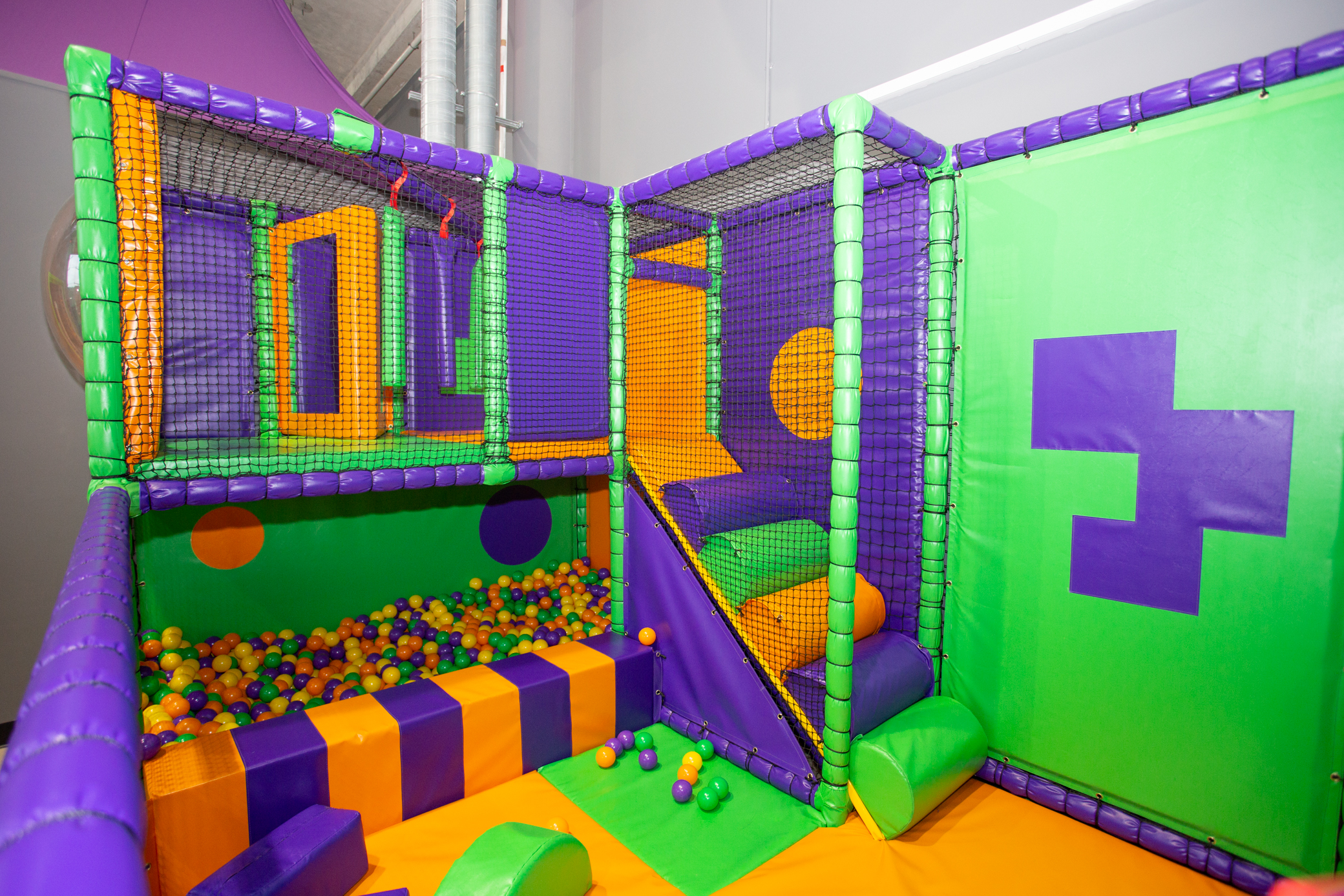 SOFT PLAY AVAILABLE FOR UNDER 4'S